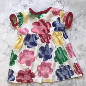 Hanna Andersson Dress - Bright Flowers - 80cm